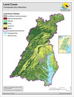 Land Cover: Chesapeake Bay Watershed