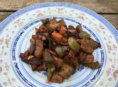 manzo e verdure all'orientale