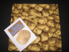 Microwave Baked Potato Bag by SusiesUniqueChic on Etsy, $7.95