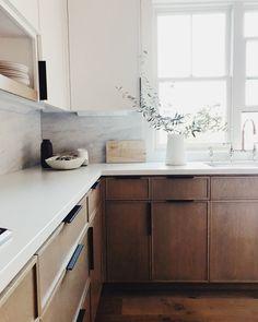 Home Decor Kitchen .Home Decor Kitchen Home Decor Kitchen, New Kitchen, Kitchen Interior, Home Kitchens, Kitchen Dining, Danish Kitchen, Minimal Kitchen, Natural Kitchen, Scandinavian Kitchen