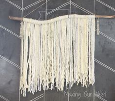 Make Any Space Whimsical with a Yarn Wall Hanging