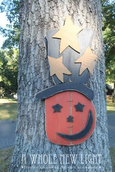 Pinterest Primitive Halloween Crafts | Handmade Primitives | DIY Crafts | Pinterest