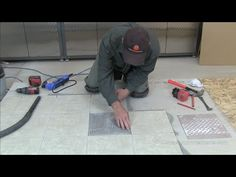 How to Easily Replace a Broken Floor Tile   Tips   Tricks     How to Easily Replace a Broken Floor Tile   Tips   Tricks   Pinterest   Tile  flooring  Gloves and Learning
