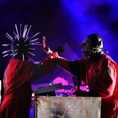 m/ Slipknot m/ Craig Jones #5 och Chris Fehn #3
