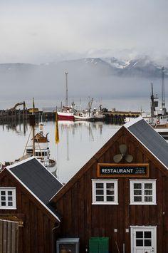 Húsavík Harbour, Iceland