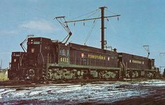 Pennsylvania Railroad Electric Locomotives.