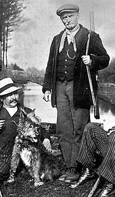 Boswachter Louis Vandegoor.