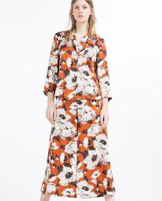 Imagem 2 de culottes impresso a partir Zara