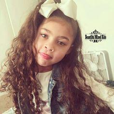 Arion Jordyn - 5 Years • Mom: Irish • Dad: African American & Native American ❤ FOLLOW @beautifulmixedkids IG