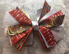Steampunk Barrette Steampunk Hair Bow Steampunk by foxyties