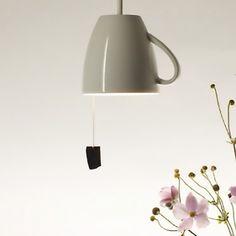 ;0) - Pendant Tea Mug Lamp