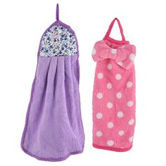 Introducing uxcell Coral Fleece Bathroom Kitchen Hanging Soft Hand Drying Towel Washcloth 2 Pcs. Great Product and follow us to get more updates!