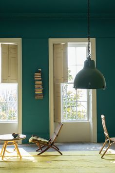 At Remodelista, we're longtime devotees of UK premium paint brand Farrow & Ball. Farrow & Ball colors are among the most complex we'v Decor, Living Room Color, Interior, Colours, New Living Room, Vardo, Farrow And Ball Paint, Farrow Ball, Curtain Decor