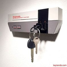 How awesome is this Keytendo Console Keyholder Check out the link in our bio!!! http://bit.do/keytendo . . . . . #igersnintendo #nintendo #gamer #gaming #nes #keyholder