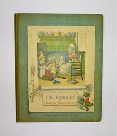 1882 The Horkey - A Ballad by Bloomfield, GEORGE CRUIKSHANK Color Illustrations, Harvest Poem