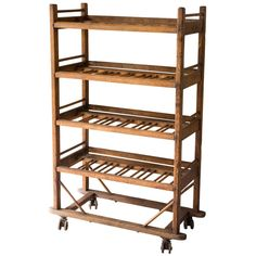Shoe Drying Rack | From a unique collection of antique and modern bookcases at http://www.1stdibs.com/furniture/storage-case-pieces/bookcases/