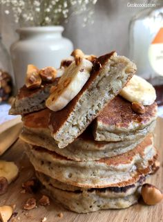 47 Ideas Breakfast Smoothie Recipes Healthy Mornings Meals For 2019 Sweet Recipes, Vegan Recipes, Cooking Recipes, Vegan Ideas, Easy Desserts, Dessert Recipes, Pancake Recipes, Breakfast Smoothie Recipes, Desert Recipes