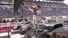 DTM Lausitzring 2014 - Zusammenfassung Rennen // Marco Wittmann (BMW) hat es geschafft: Zwei Rennen vor Schluss wird er beim achten Saisonlauf der DTM 2014 am Lausitzring Meister. Eine weitere Premiere findet man auf dem Treppchen: Pascal Wehrlein (Mercedes) gewinnt das Rennen und wird jüngster Sieger in der DTM Geschichte. Christian Vietoris (Mercedes) und Timo Scheider (Audi) standen neben Wehrlein auf dem Podium.