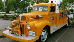 1946 Ford Pumper Fire Truck - Hauser R.F.P.D. Engine #2.....