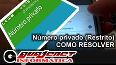 Chamada restrita (número privado) - Como resolver e mostrar seu número