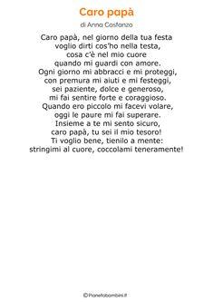 Poesia per la festa del papa per bambini 28