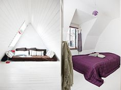 I want the purple bed for a nap & reading room..