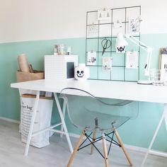 24 Trendy Home Office Ideas Diy Kids Cozy Home Office, Home Office Desks, Home Bedroom, Girls Bedroom, Trendy Home, Little Girl Rooms, Cozy House, Home And Living, Room Inspiration