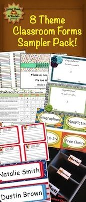 FREE!  Includes a Sample Pack of Classroom Forms and a LIMITED TIME OFFER COUPON as well!  Act fast!