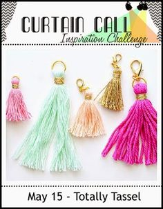 Curtain Call: Curtain Call Inspiration Challenge - Totally Tasse...
