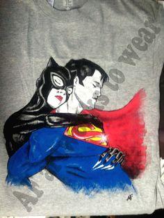 Superman & Catwoman - by Alvise Fiammengo