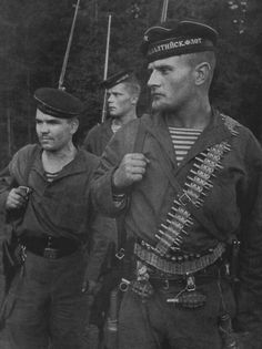 """Russian Marines (Naval Infantry) of the Baltic Fleet. 31 August 1941 """""""