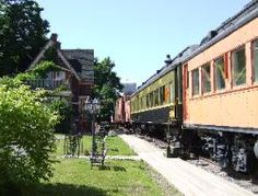 Tatamagouche, Nova Scotia, Canada - Bed and Breakfast in railway cars. Gothic Style Architecture, America And Canada, North America, East Coast Canada, Nova Scotia Travel, Places To Travel, Places To Visit, Unusual Hotels, Old Train Station