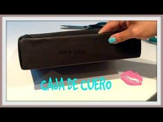 Cajita de Cuero / Organizador / Caja reciclada