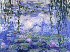 オールポスターズの クロード・モネ「Water Lilies (Nymphéas), c.1916」高品質プリント