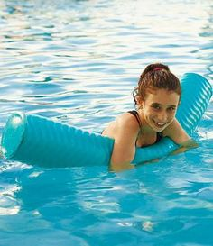 Others are mere angel hair compared to our World's Thickest Pool Noodle. This heavy-duty vinyl-dipped foam pool noodle resists sun, salt water, chlorine, and seasons of splashing fun.
