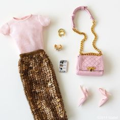 Pink times three works for me!  #barbie #barbiestyle