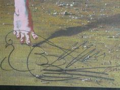 """Hans Erni -  """"UNO JA"""", 1985, detail, signed and dated in the plate: Erni 13.8.85."""