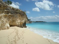 Follow the footsteps...into the Cave   Cupecoy Beach Club St Maarten -  via Flickr