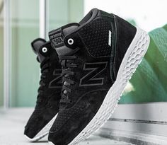 NEW BALANCE TOKYO DESIGN ANKLE BOOTS CASUAL SUEDE BLACK GREY MH988XBK