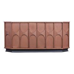 Copper lacquered Brutalist Sideboard, Belgium, - Image 1 of 11 Plywood Furniture, Diy Kids Furniture, Do It Yourself Furniture, Sideboard Furniture, Furniture Ads, Do It Yourself Home, Fine Furniture, Luxury Furniture, Furniture Design