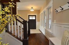 Chanhassen Cottage New Construction - traditional - entry - minneapolis - Highmark Builders