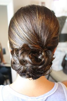 Updo by Marie Nelson