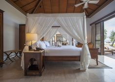 The RESIDENCE, ZANZIBAR A five-star island paradise off the coast of Tanzania, steps from the sandy beach, with breakfast and dinner
