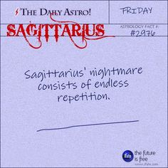 Sagittarius 2976: Visit The Daily Astro for more Sagittarius facts.Click here for a free tarot reading :)