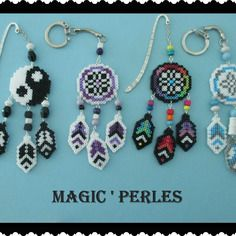 Dream Catcher fuse beads hama