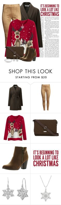 """""""It's beginning to look a lot like Christmas"""" by pulunen ❤ liked on Polyvore featuring Uniqlo, Vera Bradley, Reneeze, Sixtrees, Amanda Rose Collection, Ippolita, women's clothing, women, female and woman"""
