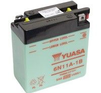 Yuasa 6N11A-1B 6V Motorcycle Batteries