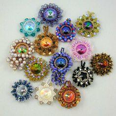 ... desing from setapouch) #beadwork   B-did Earrings   Pinterest   Star