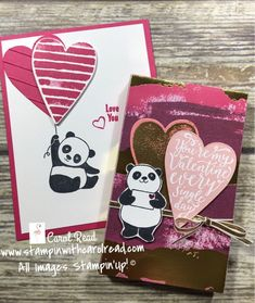 Party Pandas and Lots to Love framelits