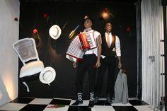 Ártidi #escaparate #gran formato # Colección Primavera - Verano 2014 #Jean Paul Gaultier